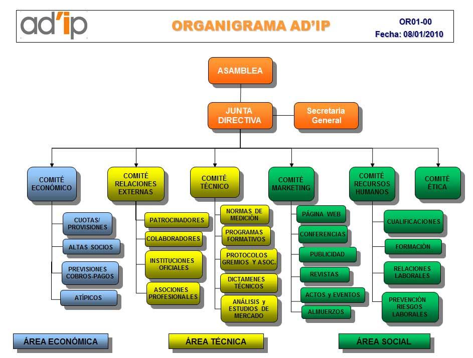 Organigrama AD'IP