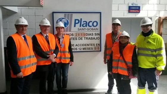Consejero visita Placo - Ad'ip