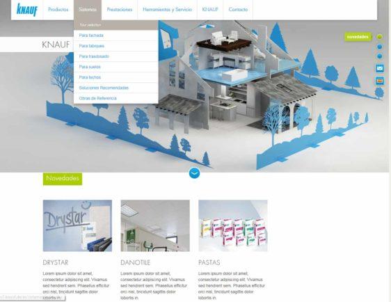 Nueva Web Knauf - AD'IP