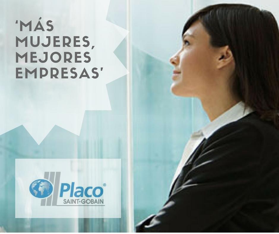 Saint-Gobain Placo, empresa adherida al proyecto 'Más mujeres, mejores empresas'