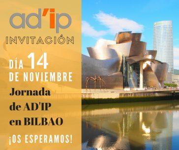 iNVITACIÓN Jornada Ad'ip en Bilbao