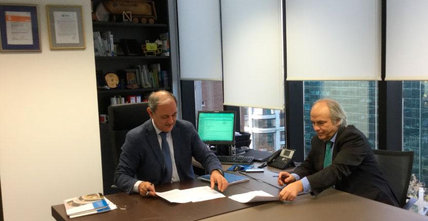 Placo apoyará el archivo digital Fundación Alejandro de la Sota