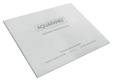 Knauf perfecciona su placa Aquapanel® Indoor
