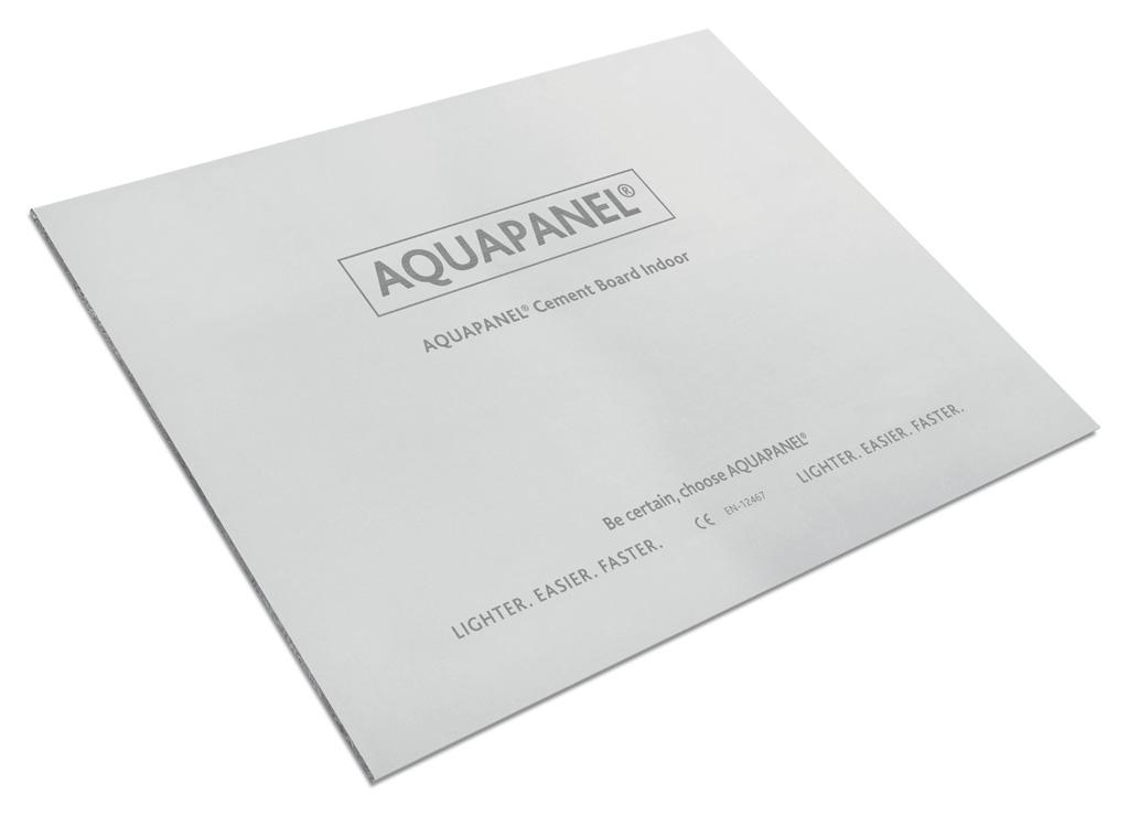 Knauf perfecciona su placa Aquapanel® Indoor