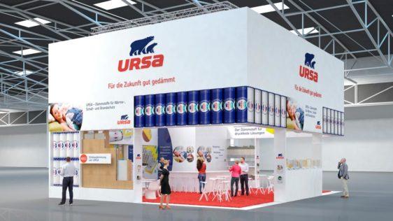 URSA presente en la Feria alemana BAU 2017