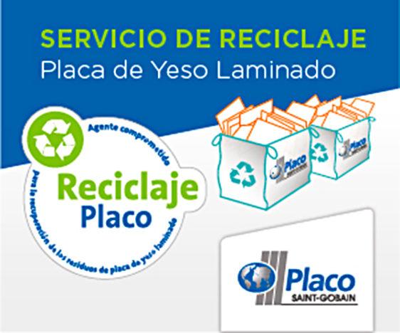 Saint-Gobain Placo crea un servicio pionero para reciclar las placas de yeso laminado