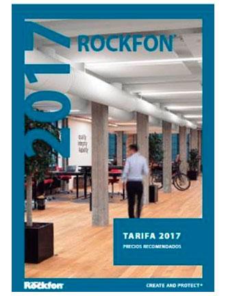 nuevas tarifas 2017 ROCKWOOL, ROCKFON y ROCKPANEL