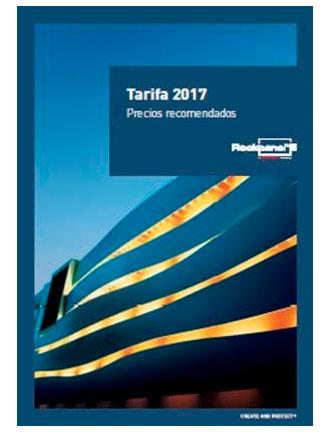 nuevas tarifas 2017 ROCKWOOL, ROCKFON y ROCKPANEL 2 3
