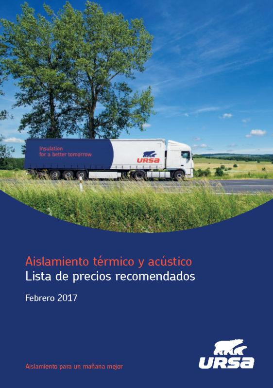 URSA publica su nueva tarifa para 2017
