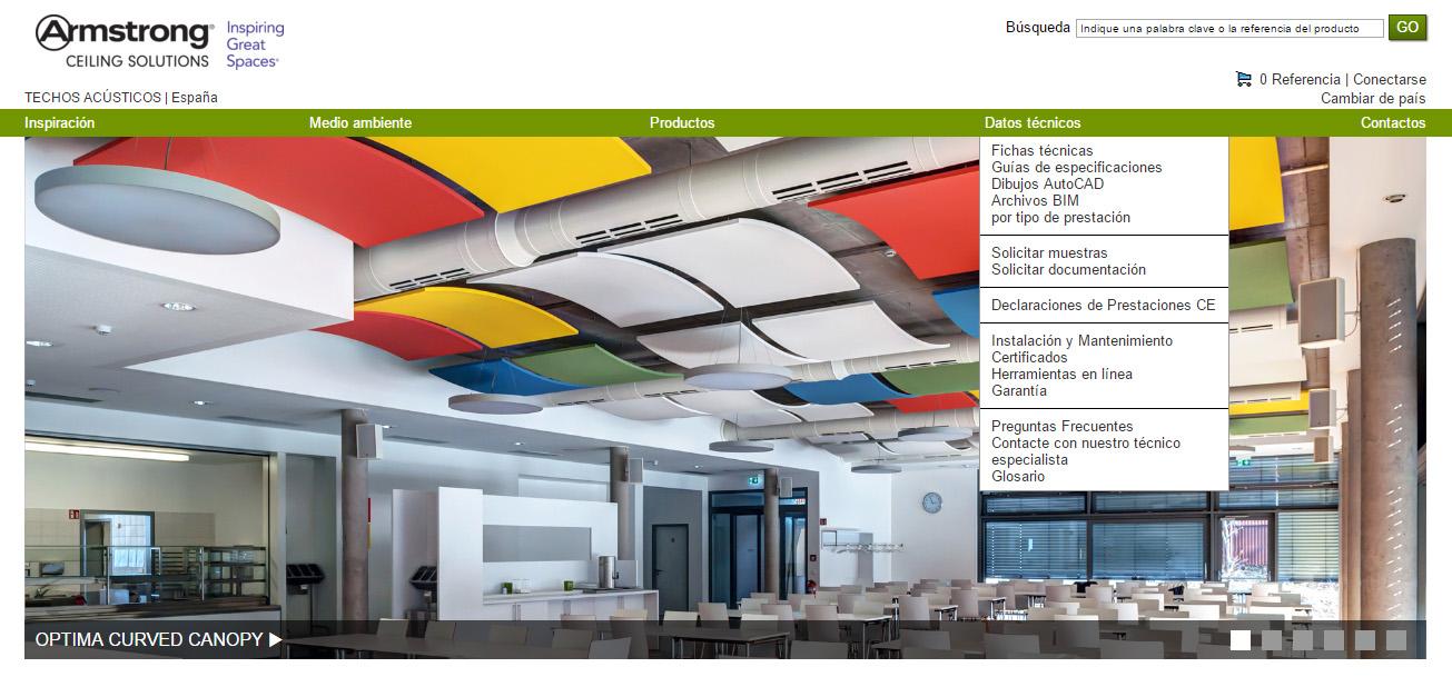 Armstrong, especialista en soluciones de techos acústicos 2