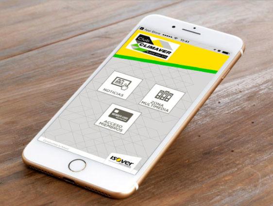 Isover lanza una App para miembros del Club Climaver
