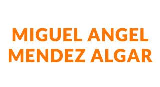MIGUEL ANGEL MENDEZ ALGAR