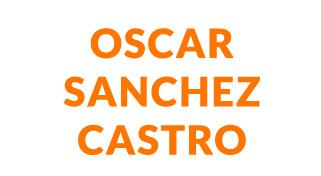 OSCAR SANCHEZ CASTRO