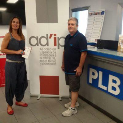 2 A'DIP informando en la empresa PLB