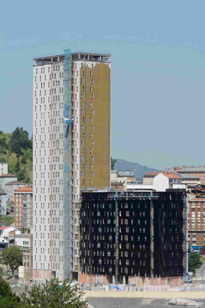 La lana de roca de ROCKWOOL aislará el edificio 'passiv'