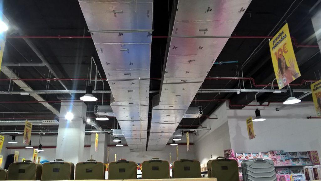 URSA AIR en el nuevo Centro Comercial SAMBIL