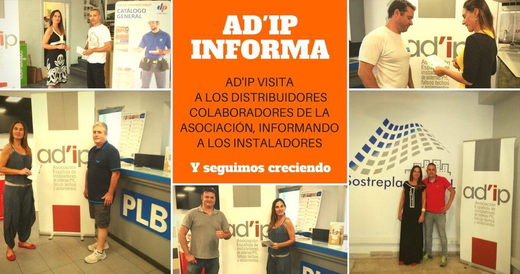 AD'IP visita a los distribuidores