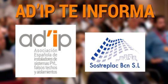 AD'IP Informa desde oficinas de Sostreplac