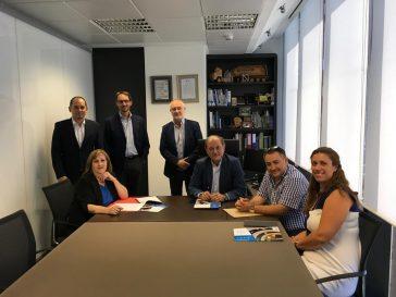 El pasado día 27 de julio, AD'IP se reunió con PLACO