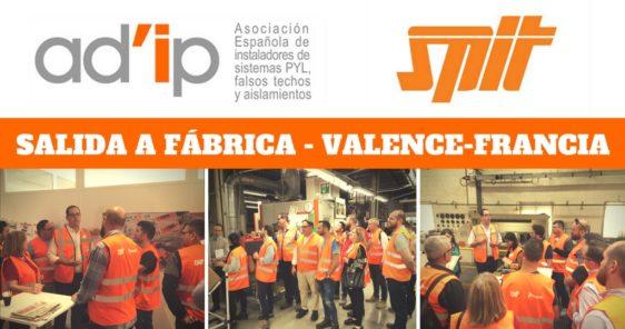 Salida a Fábrica Valence- Francia