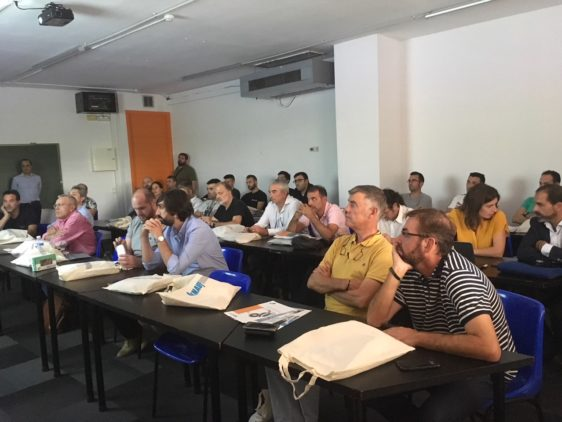 Fotos y resumen de la Jornada Presentación de productos de la empresa Knauf y Knauf Insulation en la sede de AD'IP