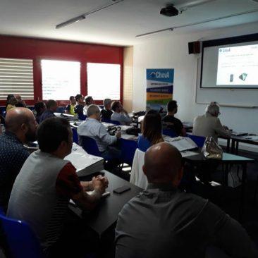 Fotos y Resumen de la Jornada Presentación de productos de la empresa CHOVA 2
