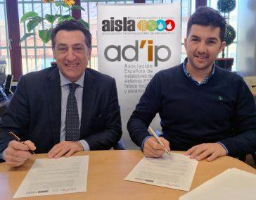 AISLA y AD'IP firman un acuerdo de colaboración