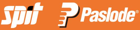 La nueva página web de SPIT PASLODE