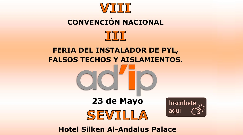 Convención Nacional y Feria del instalador AD'IP 2019