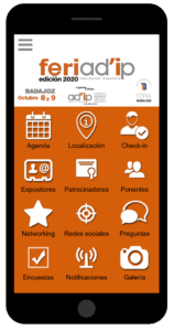 Descarga la App de FERIAD'IP 2020
