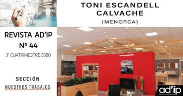 REVISTA-AD'IP-44-TONI-ESCANDELL-CALVACHE-PORTADA