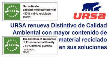 PUBLICACIÓN-URSA-DISTINTIVO-CALIDAD-MEDIOAMBIENTAL