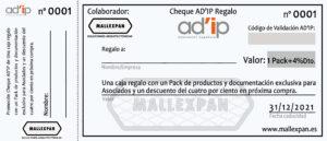 CHEQUE-AD'IP-REGALO-MALLEXPAN
