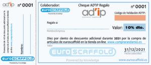 CHEQUE-AD'IP-REGALO-EUROSCAFFOLD